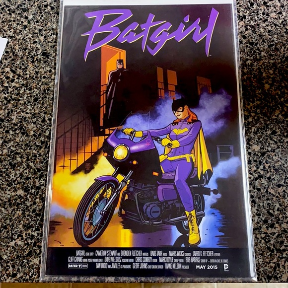 2015 Batgirl Purple Rain Variant Prince Comic Book
